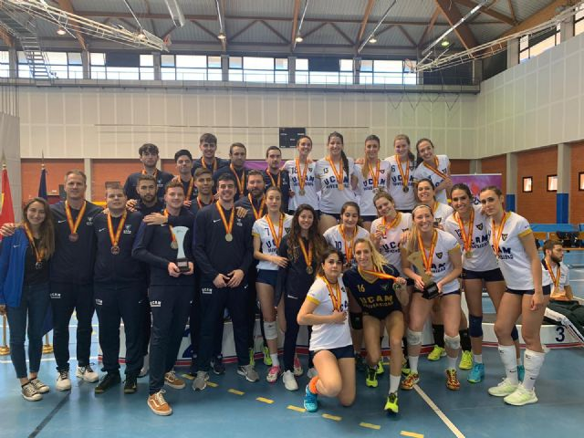 Cuatro medallas más para la UCAM en fútbol sala, voleibol y balonmano - 3, Foto 3