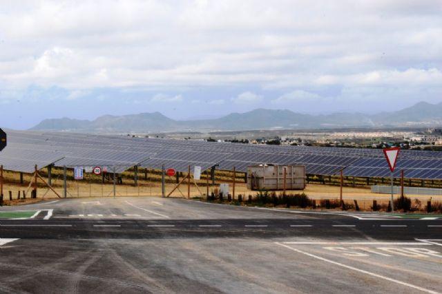 La planta fotovoltaica