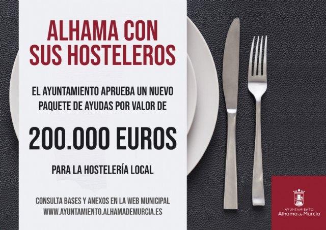 El Ayuntamiento lanza nuevas ayudas para hostelería por valor de 200.000 euros - 1, Foto 1
