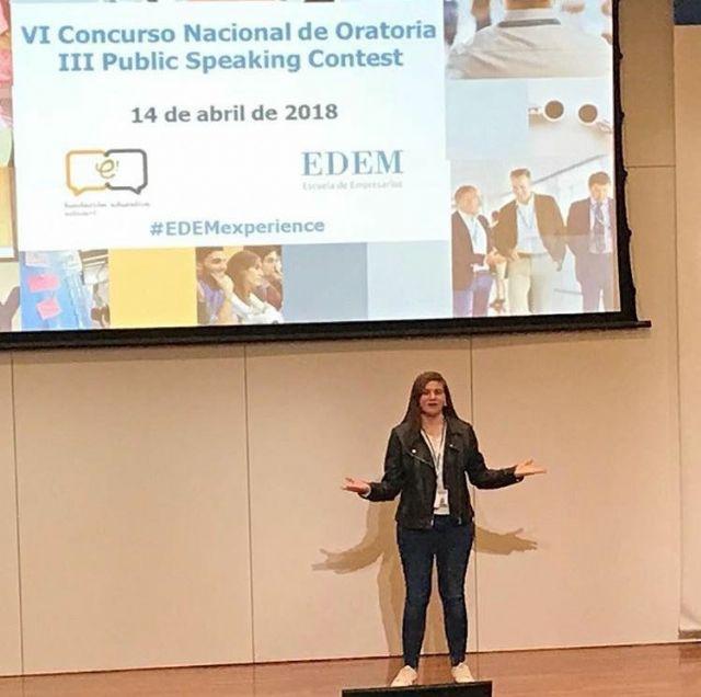Silvia Cerdán, mejor oradora en inglés representa a España en Londres - 1, Foto 1