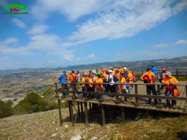 El grupo de Senderismo Socio-Cultural Senior de la Concejalia de Servicios Sociales visita Pliego - 1, Foto 1