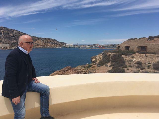 Manuel Padín: la enmienda para las baterías de costa es un paso clave para que seamos Paisaje Cultural de la Humanidad - 1, Foto 1