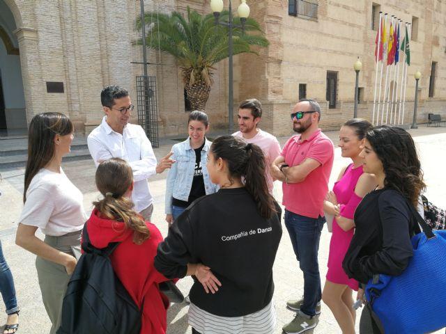 José Carlos Martínez abre las puertas de la Compañía Nacional a los alumnos del Grado en Danza de la UCAM - 2, Foto 2