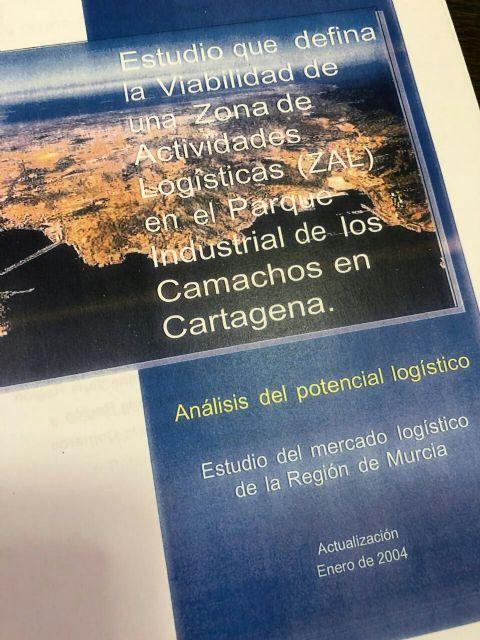 José López insta al Puerto de Cartagena a que financie íntegramente el traslado del Depósito Franco al Polígono Industrial de Los Camachos - 1, Foto 1