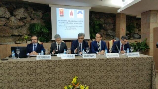 La Región acoge a especialistas en cooperación judicial internacional y derecho europeo - 1, Foto 1