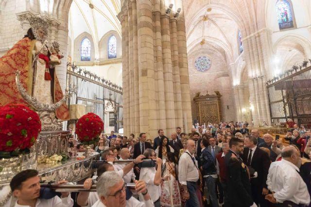 Fernando López Miras asiste a la eucaristía de despedida de la Virgen de la Fuensanta - 1, Foto 1
