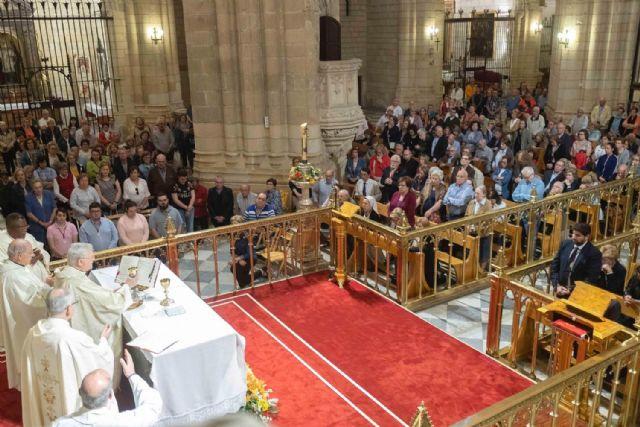 Fernando López Miras asiste a la eucaristía de despedida de la Virgen de la Fuensanta - 3, Foto 3