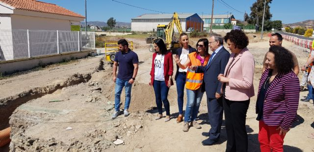 Una nueva glorieta mejorará la seguridad en la vía que une el núcleo urbano de Puerto Lumbreras con El Esparragal y la Estación - 1, Foto 1
