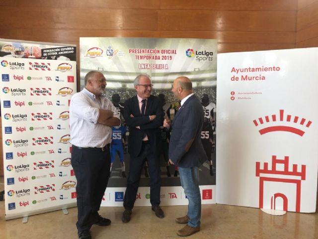 Murcia se convierte el próximo 25 de mayo en capital nacional del fútbol americano - 1, Foto 1