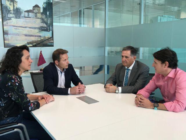 El Alcalde recibe al nuevo Gerente del Hotel Caleia Mar Menor Golf & Spa Resort - 2, Foto 2