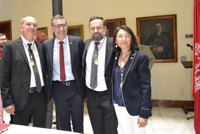 Paloma Sobrado, Longinos Marín y Pedro Miguel Ruiz toman posesión como vicerrectores de la Universidad de Murcia - 1, Foto 1