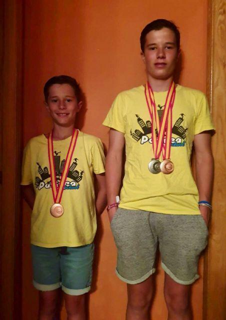 Tres medallas para los hermanos Peñalver en el nacional de patinaje de freeskate - 1, Foto 1