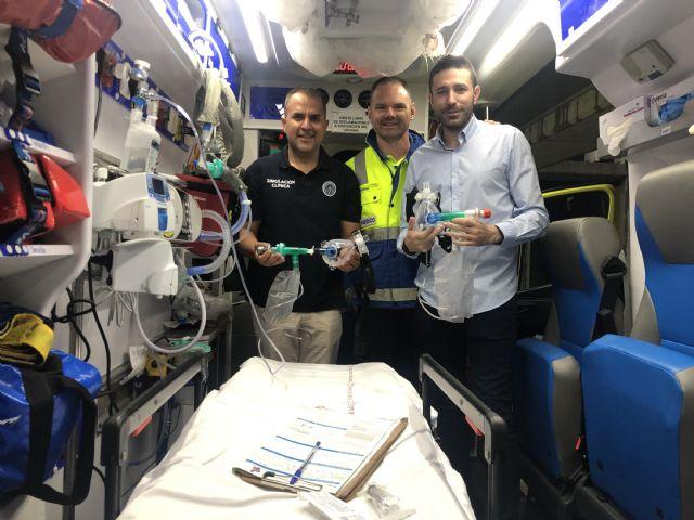 Expertos en urgencias de la UCAM diseñan un dispositivo respiratorio, económico y eficaz, para pacientes con COVID-19 - 1, Foto 1