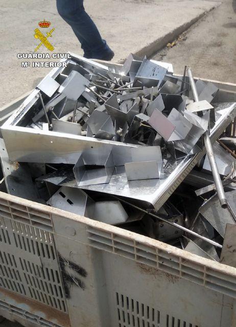 La Guardia Civil recupera materiales metálicos de una granja porcina valorados en cerca de 15.000 euros - 1, Foto 1