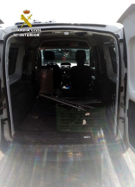 La Guardia Civil recupera materiales metálicos de una granja porcina valorados en cerca de 15.000 euros - 2, Foto 2