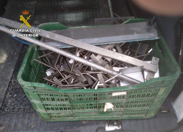 La Guardia Civil recupera materiales metálicos de una granja porcina valorados en cerca de 15.000 euros - 3, Foto 3
