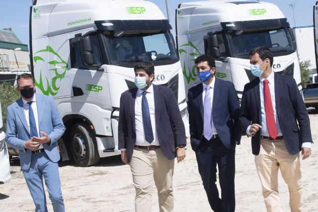 La Región de Murcia cuenta con la mayor flota de camiones de Gas Natural Licuado de Europa - 1, Foto 1