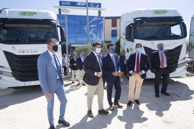 La Región de Murcia cuenta con la mayor flota de camiones de Gas Natural Licuado de Europa - 3, Foto 3