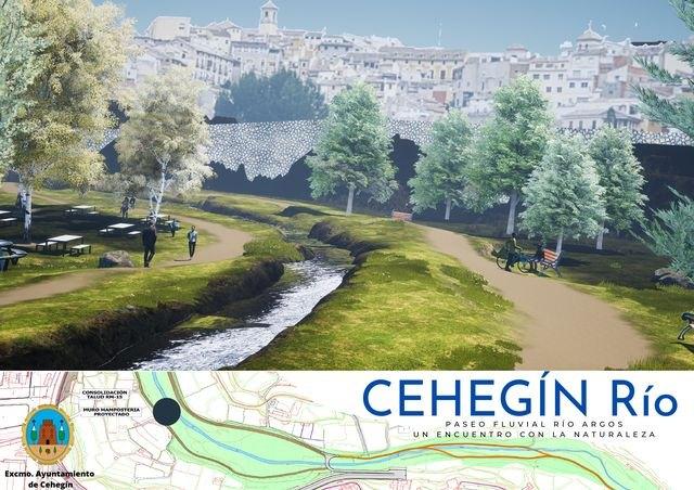 La alcaldesa presenta Cehegín Río, un proyecto encaminado a la creación de un paseo fluvial en el Río Argos - 2, Foto 2