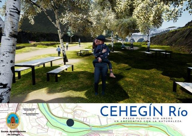 La alcaldesa presenta Cehegín Río, un proyecto encaminado a la creación de un paseo fluvial en el Río Argos - 3, Foto 3
