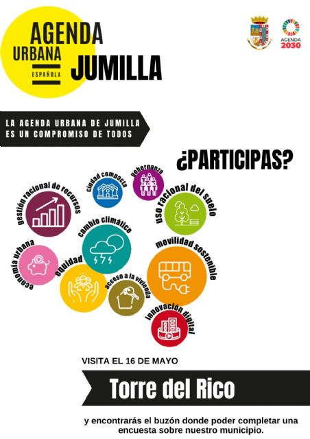 Calendario mesas itinerantes Agenda Urbana Jumilla - 2, Foto 2