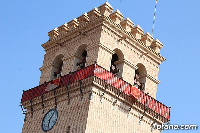The tower of the church of Santiago el Mayor of Totana opened as a museum