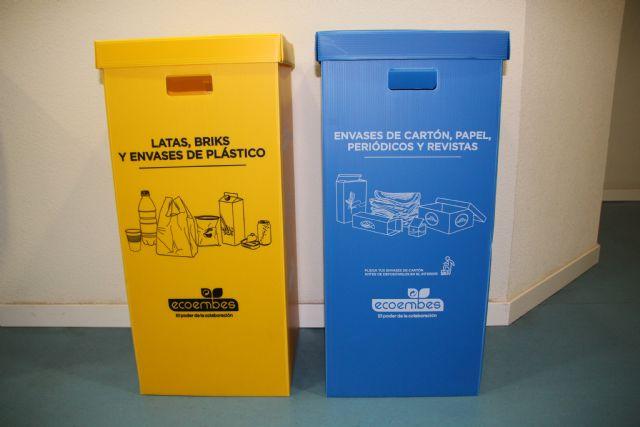 Alhama, el municipio de la Región que más papel y cartón recicla, Foto 1