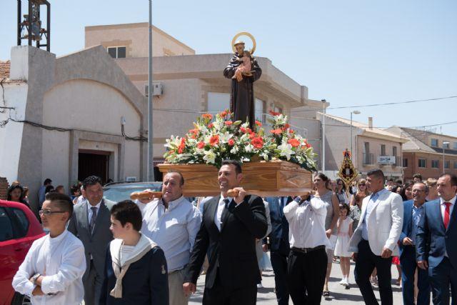 Cañada de Gallego disfruta de sus fiestas patronales en honor a San Antonio, Foto 1