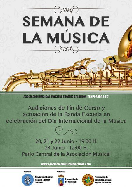 Semana de la música y audiciones de fin de curso de la asociación maestro Eugenio Calderón, Foto 1