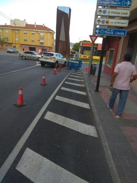 La avenida de España permanecerá cortada una semana para arreglar una rejilla de recogida de pluviales, Foto 2