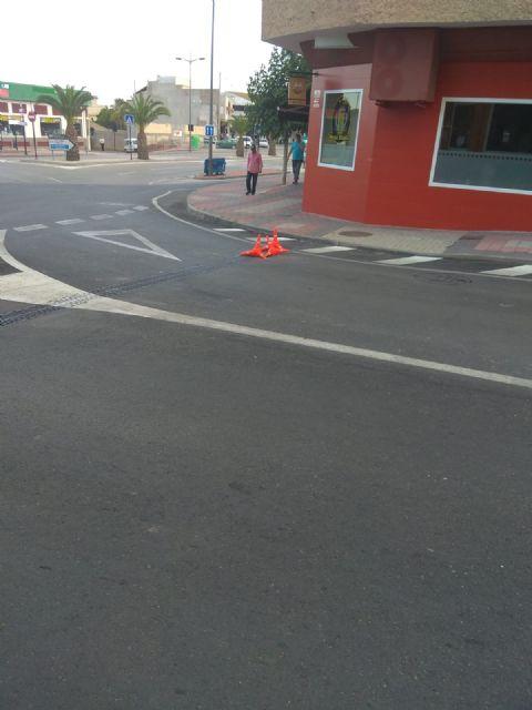 La avenida de España permanecerá cortada una semana para arreglar una rejilla de recogida de pluviales, Foto 3