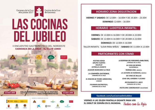 'Las cocinas del Jubileo' muestran en Caravaca lo mejor de la gastronomía del Noroeste - 3, Foto 3