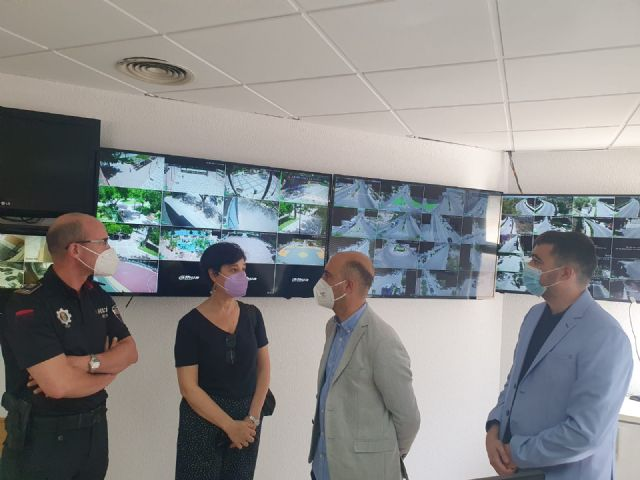 La Policía Local de Molina de Segura dispone de un nuevo servicio de videovigilancia en lugares públicos para el control del tráfico y la seguridad ciudadana, financiado a través de la EDUSI Molina 2020 Avanza Contigo - 1, Foto 1