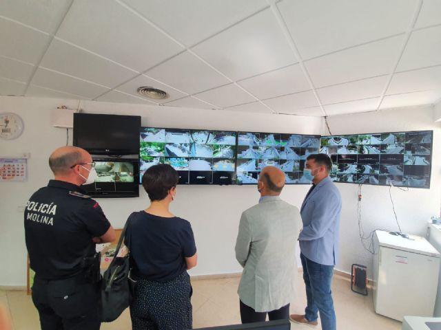 La Policía Local de Molina de Segura dispone de un nuevo servicio de videovigilancia en lugares públicos para el control del tráfico y la seguridad ciudadana, financiado a través de la EDUSI Molina 2020 Avanza Contigo - 3, Foto 3