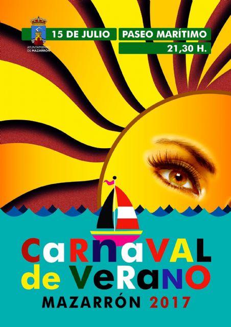 Más de 650 participantes se dan cita mañana en el carnaval de Verano de Puerto de Mazarrón, Foto 1
