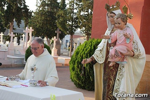 """Tradicional Misa en el Cementerio Municipal de Totana """"Nuestra Sra. del Carmen"""" con motivo de la festividad de la Virgen del Carmen - 1, Foto 1"""