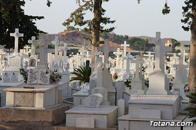 """Tradicional Misa en el Cementerio Municipal de Totana """"Nuestra Sra. del Carmen"""" con motivo de la festividad de la Virgen del Carmen - 3, Foto 3"""