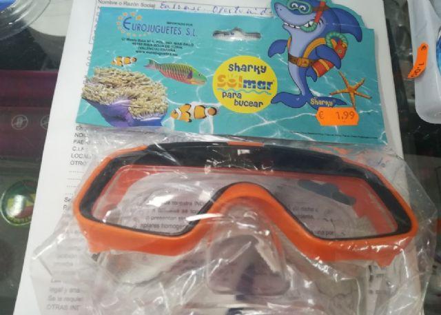La Comunidad retira tres modelos de gafas de buceo por riesgo de laceración y cortes, Foto 2
