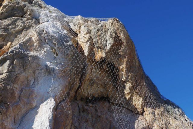 Medio Ambiente invierte más de 1,2 millones de euros para evitar desprendimientos en las laderas de Blanca, Ulea y Ojós - 1, Foto 1