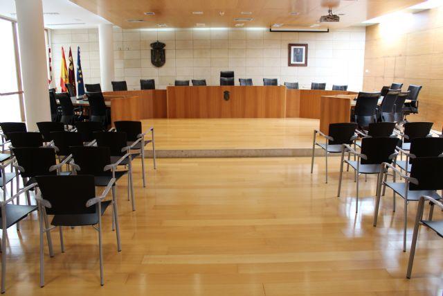 Mañana se celebra el Pleno de reorganización de la estructura política y administrativa del Ayuntamiento de Totana para el funcionamiento de esta nueva legislatura