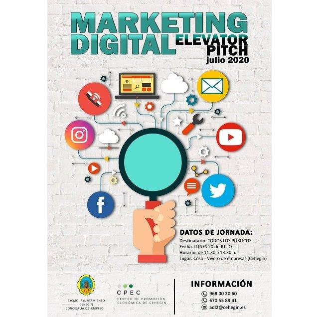El Ayuntamiento ofrece una Jornada formativa sobre Marketing Digital - 1, Foto 1