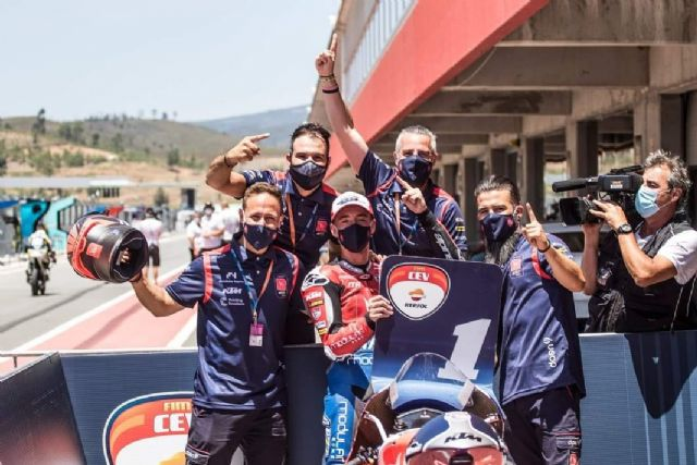 Pedro Acosta se proclama campeón en la segunda prueba del FIM CEV Repsol, Foto 1