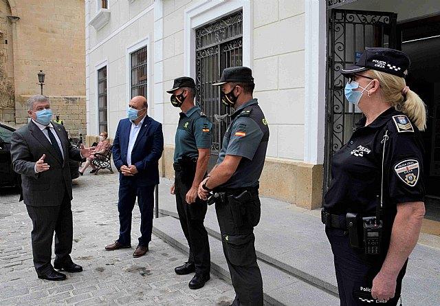 Pascual Lucas solicita al delegado del Gobierno agentes de guardia civil para reforzar la seguridad - 1, Foto 1