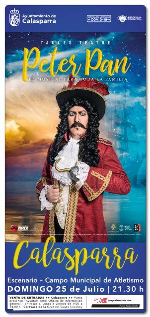El musical Peter Pan llega este verano a Calasparra - 2, Foto 2