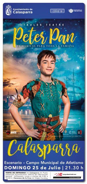 El musical Peter Pan llega este verano a Calasparra - 3, Foto 3