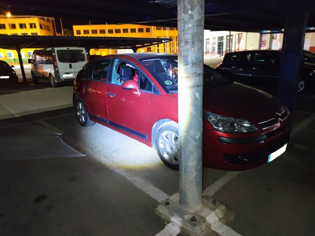 La Policía Local de Lorca detiene a una persona por un presunto delito de robo con fuerza en interior de vehículo y de daños - 1, Foto 1