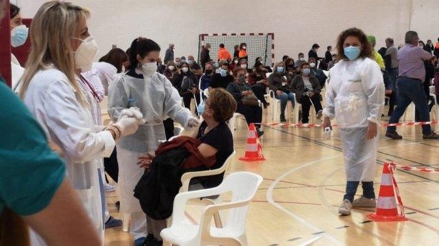 [Previsión de vacunaciones covid-19 en Totana para mañana 15 de julio
