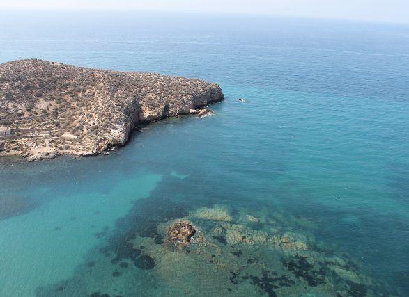 La declaración de espacio protegido pone en valor los fondos marinos de Mazarrón, Foto 1