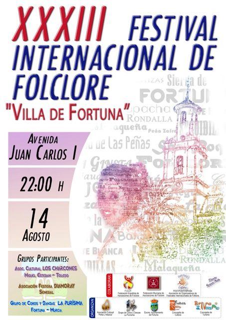 Fortuna celebra la edición 33 del Festival Folclórico Internacional con grupos visitantes de gran nivel - 1, Foto 1