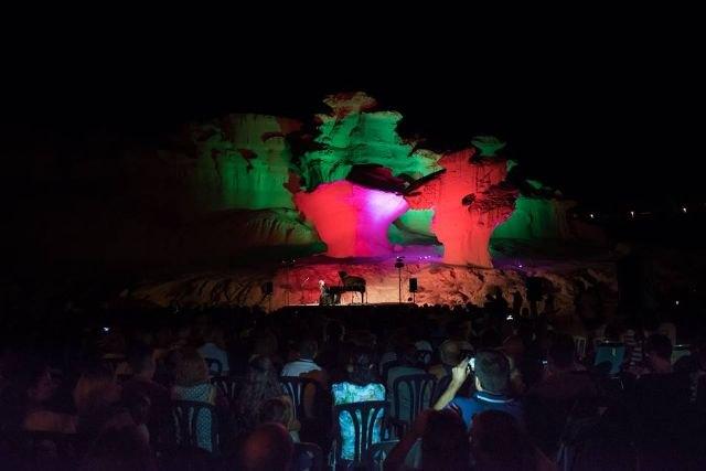 Mágico concierto de Juan Miguel Murani junto a las Erosiones de Bolnuevo - 2, Foto 2